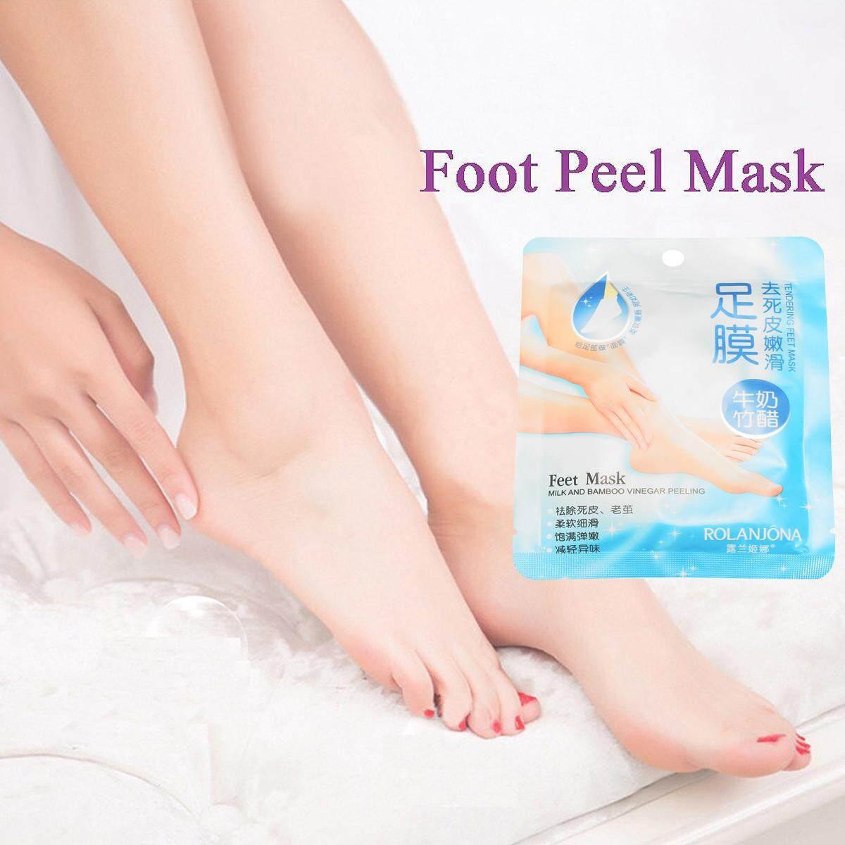 Baby Foot Peeling Mask Masker Kaki Pecah 2 Pcs Daftar Harga Holika Silky One Shot 20017555 Renewal Remove Dead Skin Cuticles Exfoliating Care White Intl