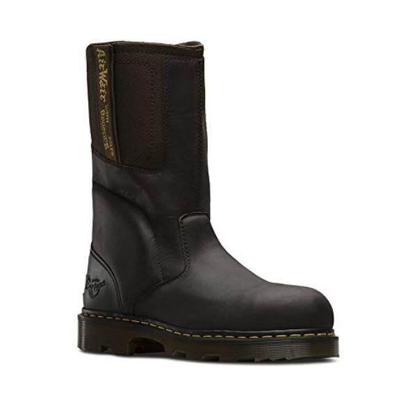 Drartens Mens Kirkham ST Rigger Boots, Brown, UK, US