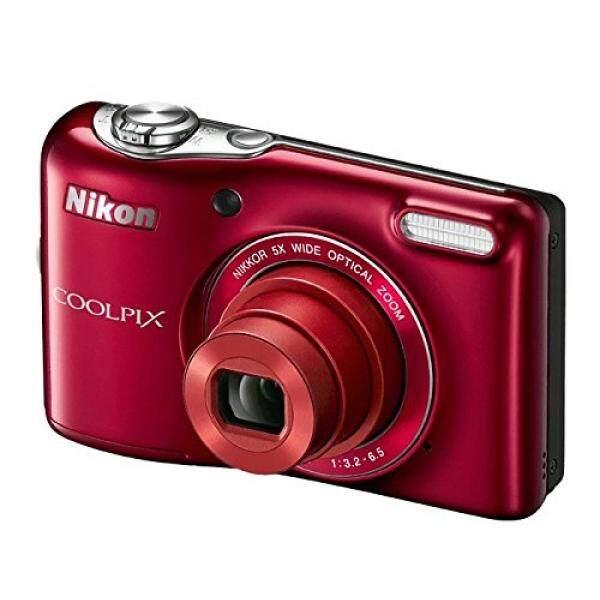 Nikon Coolpix L32 Kamera Digital dengan 5x Wide-Angle Nikkor Lensa Variabel-Intl