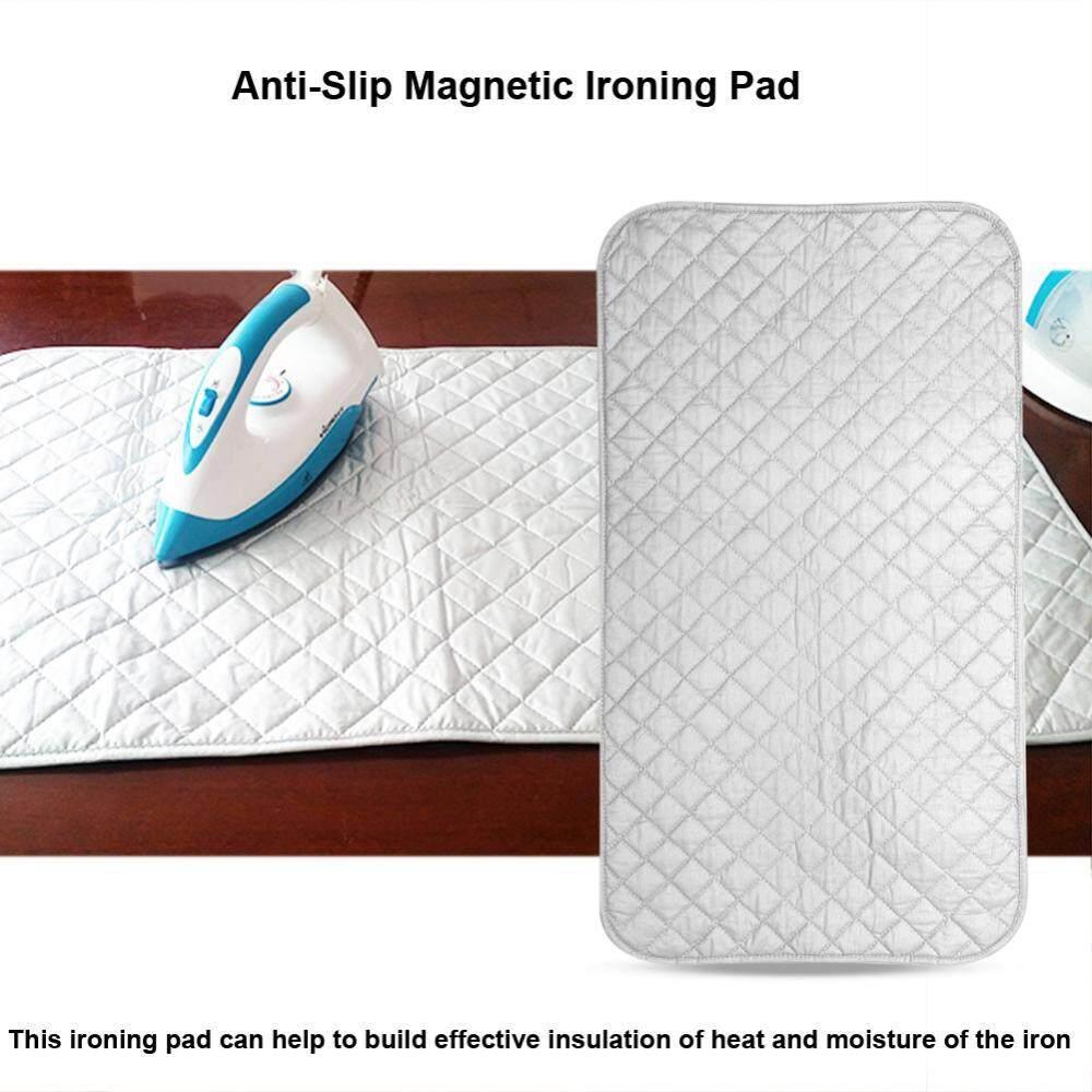 Portabel Lipat Anti Selip Magnetik Ironing Alas Alas Selimut untuk Meja Atas & Travelling-Internasional