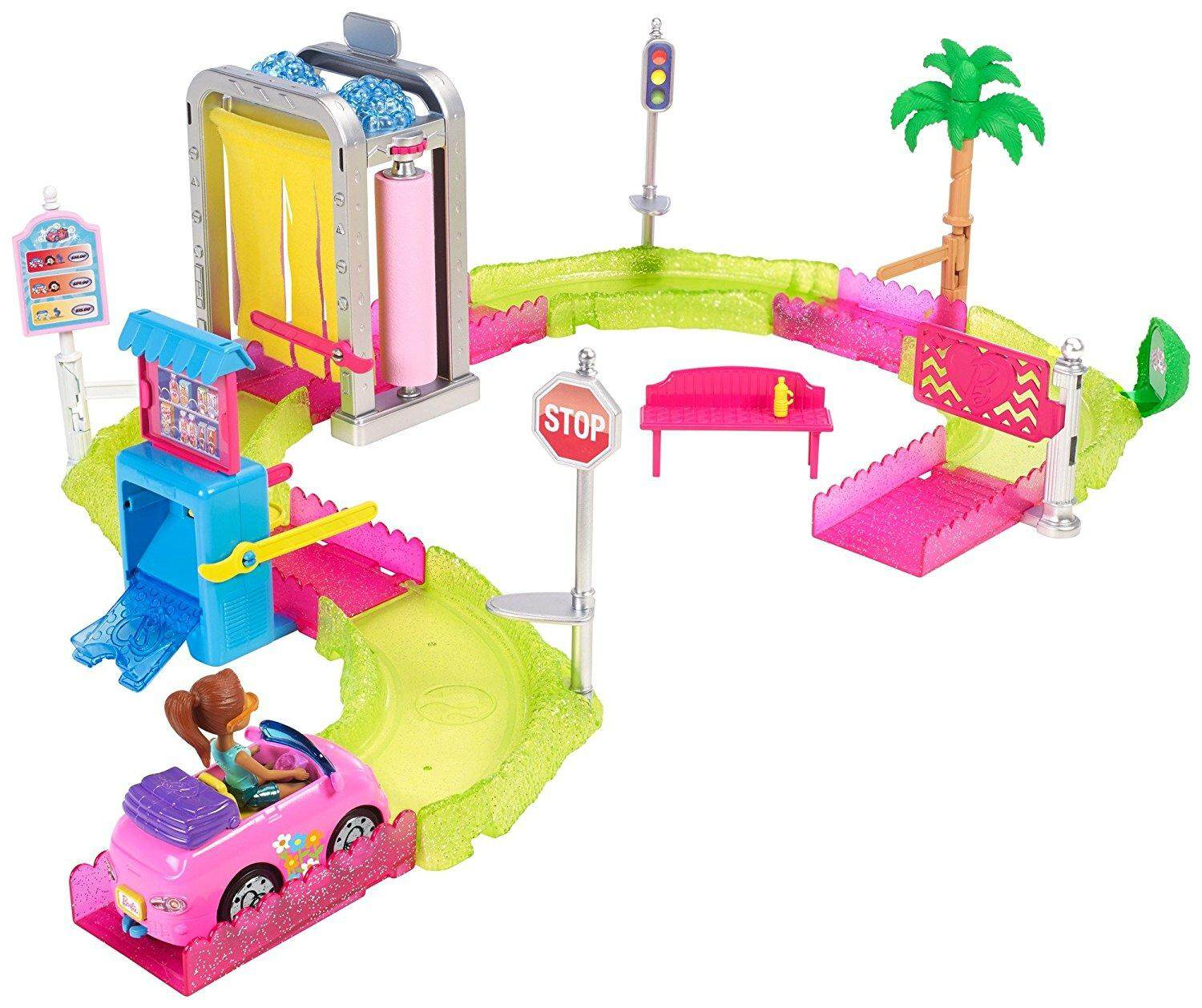 [BARBIE] On the Go Car Wash Playset (4 yrs+) toys for girls