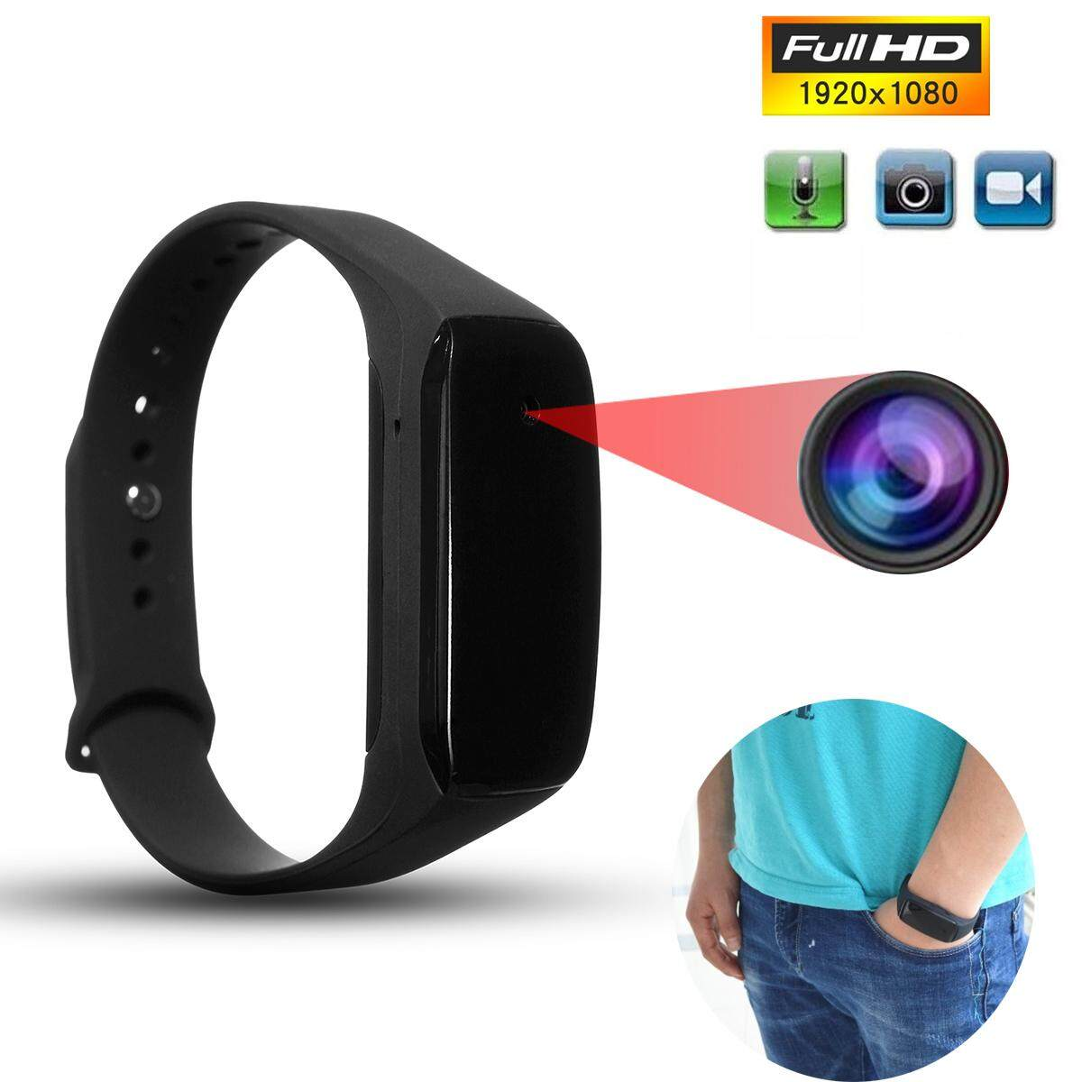 Hd 1080p Cam Dvr Hidden Camera Wearable Wrist Watch Mini Dv Dvr Video Recorder By Audew.