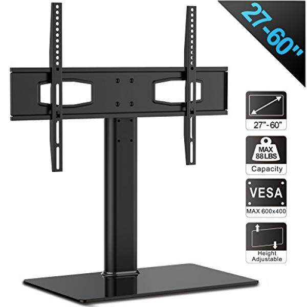 Fitueyes Universal TV Stand/ Base Tabletop TV Stand with Mount for up to 60 inch Flat screen Tvs Vizio/Sumsung/Sony Tvs/xbox One/tv components Max VESA 400x600 TT105201GB - intl