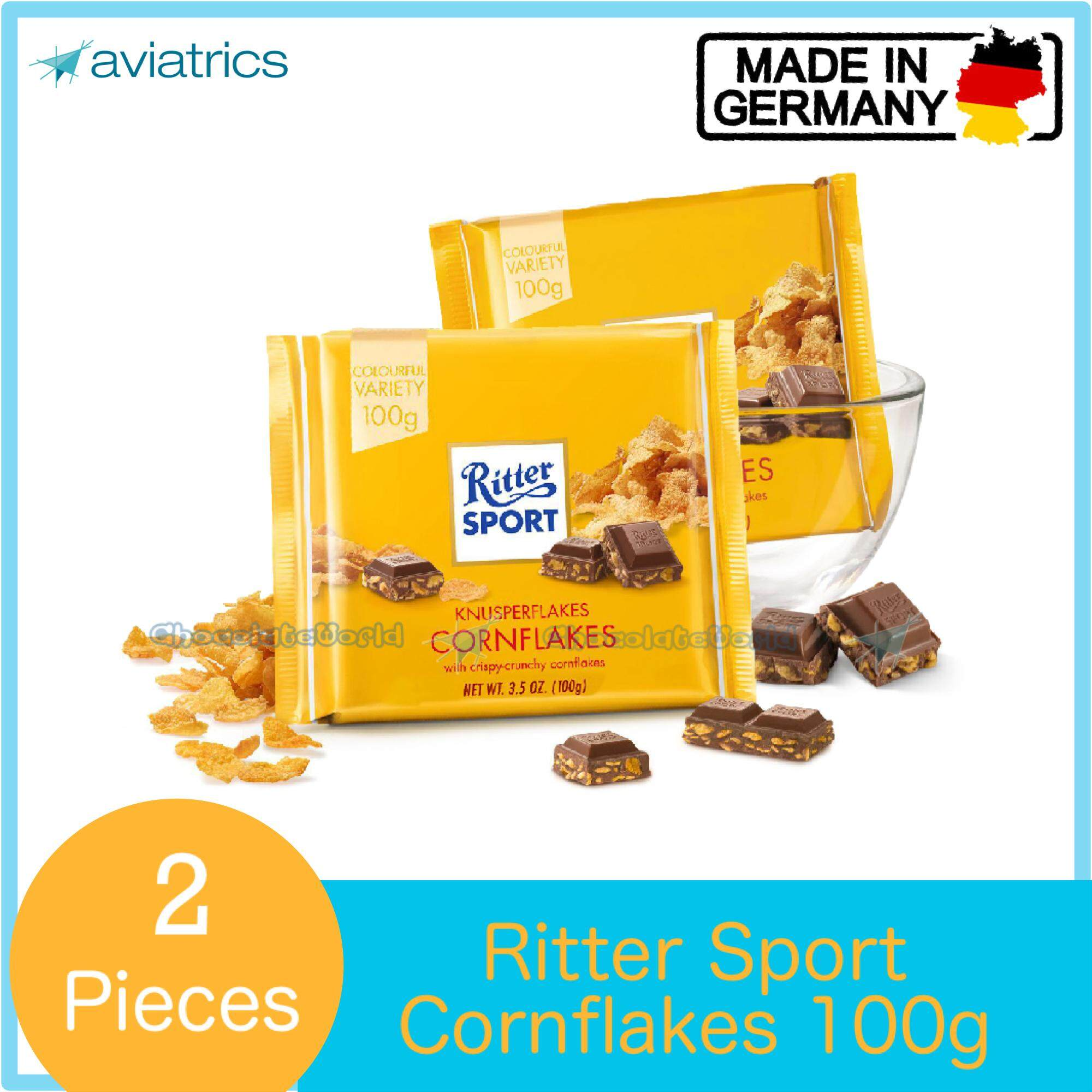 Ritter Sport Cornflakes 100g X 2 (Made in Germany)