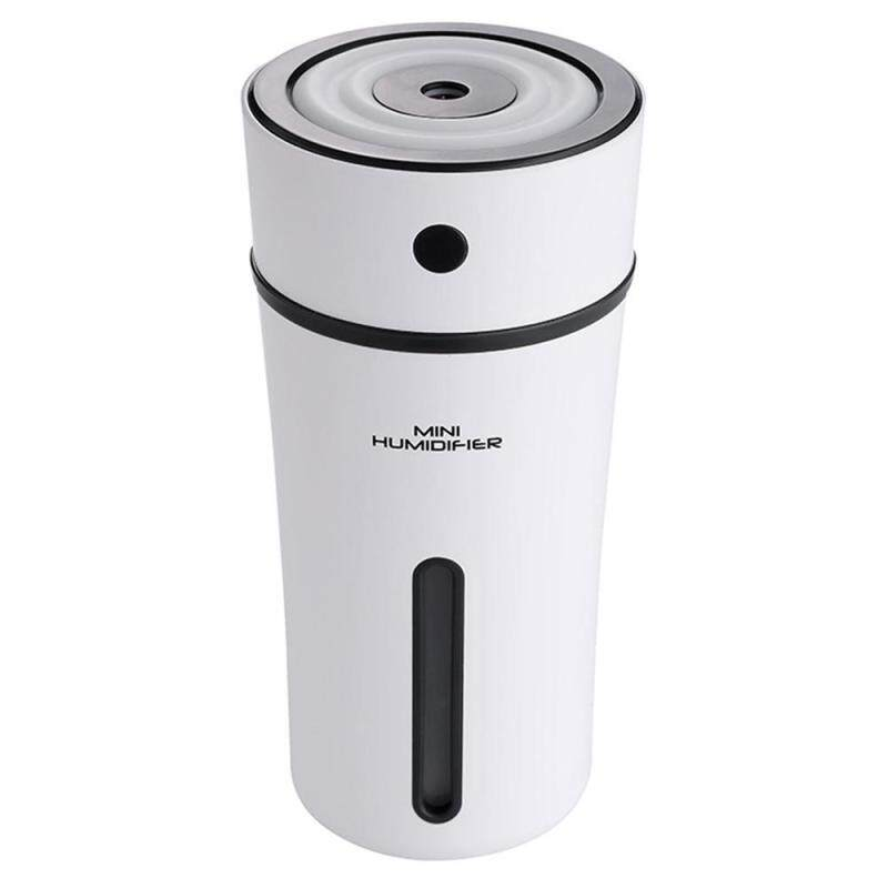 coobonf Cool Mist Humidifier, USB Mini Portable Personal Humidifier With Night Light Car Humidifier, Automatic Shut-off, Perfect For Home, Babyroom,Office, Car, Travel Singapore
