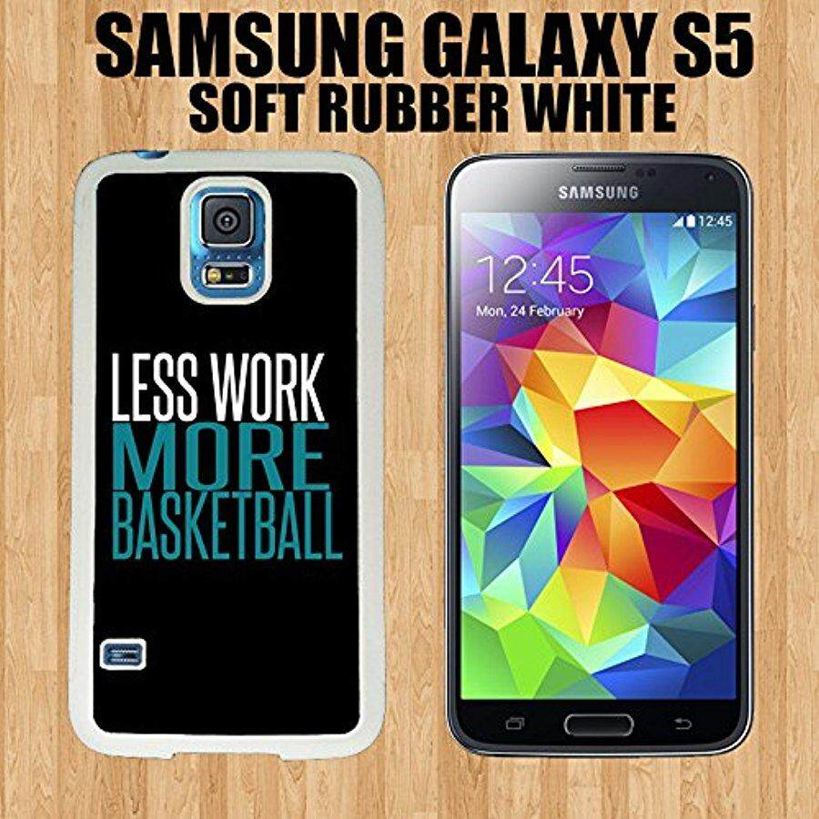 Basketball Sport Quote Custom made Case/Cover/Skin FOR Samsung Galaxy S5 -White- Rubber Case (Ship From CA) - intl