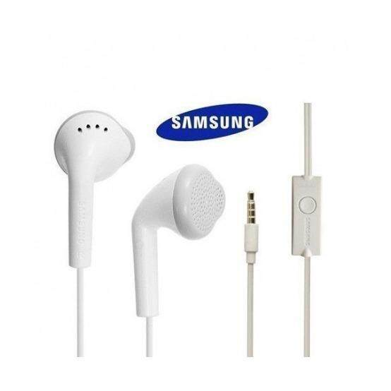 Original Strereo Sounds Bass Earphone With Mic WHITE