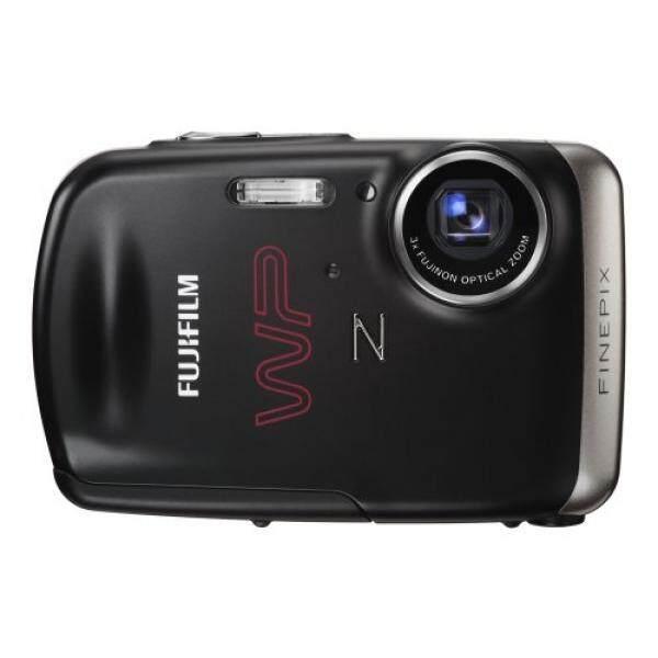 Gambar Baik Fujifilm Z33WP 10 MP Tahan Air Kamera Digital dengan 3x Optical Zoom (Hitam)-Intl