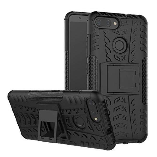 Zenfone Max Plus Case SunRemex Durable Armor with Full Body and Heavy Duty Protection and Kickstand Design for Asus Zenfone Max Plus ZB570TL(2018) (Black) - intl