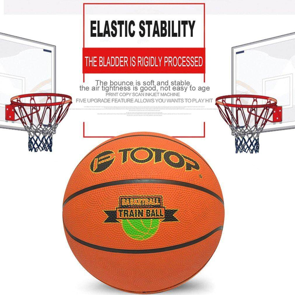 Hình ảnh Size 7 Rubber Basketball Special for Primary And Middle School Students TOTOP orange - intl
