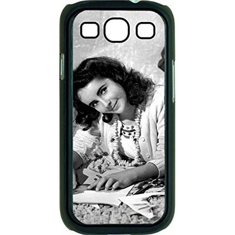 Baru Elizabeth Taylor-TM Plastik Hitam Keras Case untuk Samsung Galaksi S3 I9300 SGh-I747 Universal Dibuat Di amerika Serikat-Internasional