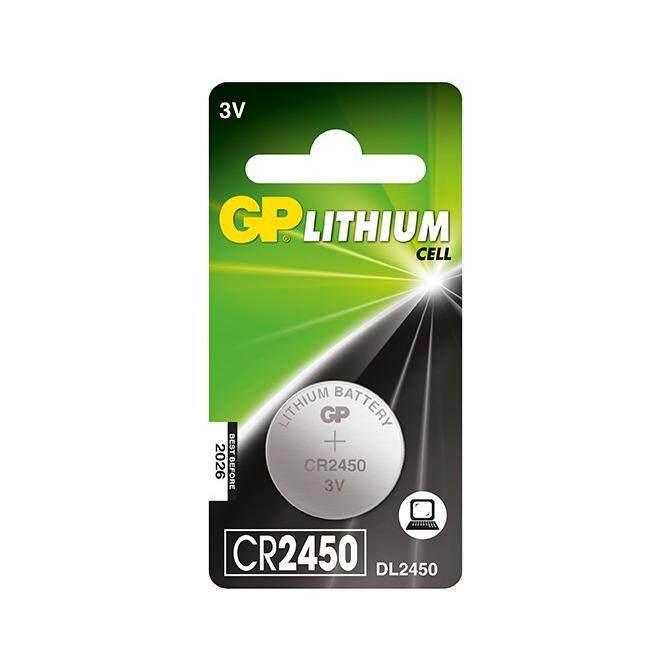 CR2450 GENUINE GP Lithium Battery 3V (CR2450-2C1) Malaysia