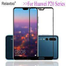 (Black) For Huawei P20 Pro Screen Protector Tempered Glass 3D Curved Edge Full Cover for Huawei P20 Pro 9H Hard Glass Coverage 6.1 inch + Free Cleaning Kits