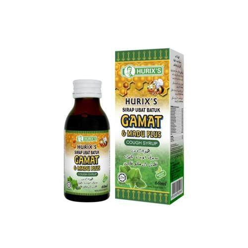 Hurix's Sirap Ubat batuk Gamat dan Madu Plus 60ml