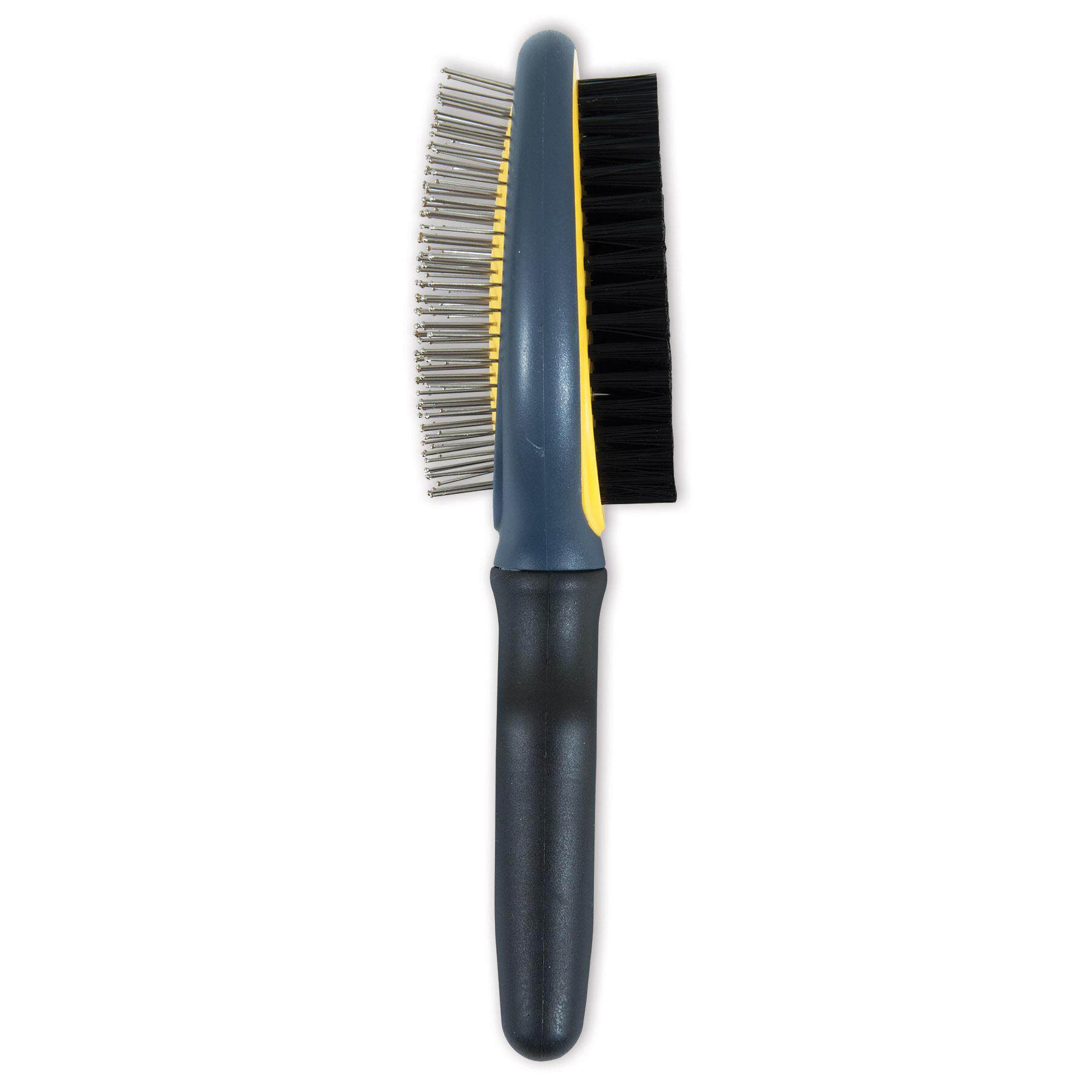 [JW PET GROOMING] Gripsoft Double Sided Brush