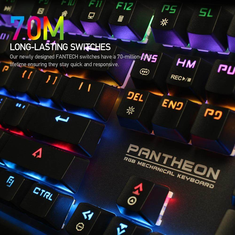 Features Fantech Pantheon Mk881rgb Full Size Edition Blue Switch Steelseries Apex M650 Rgb Mechanical Keyboard Red Clicky Keys Gaming Water And