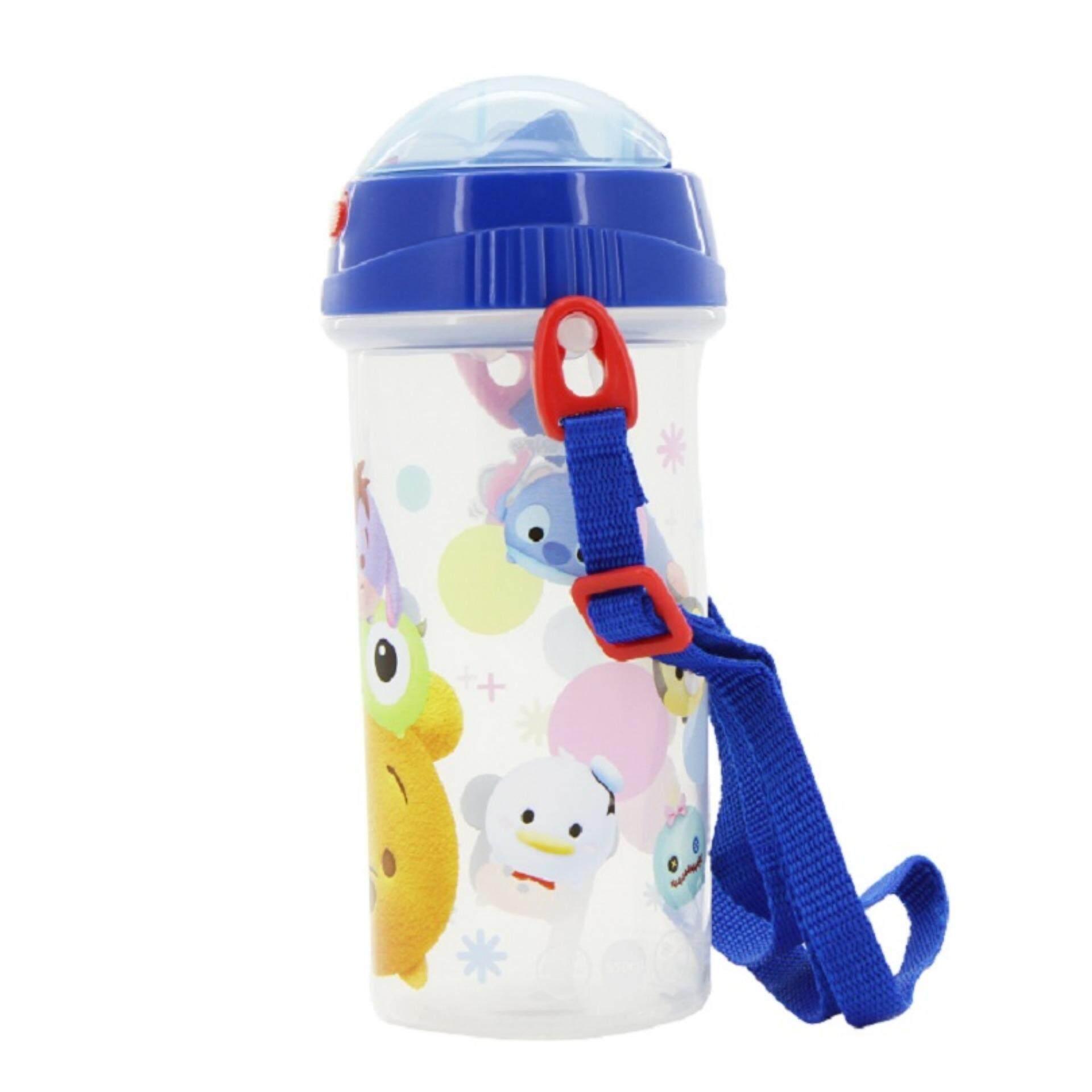 Disney Tsum Tsum BPA Free 550ML Water Bottle - Blue Colour