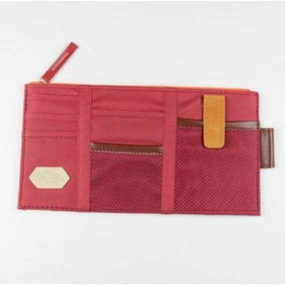 Sun Visor Storage Bag Car Card storage point pocket Documents Pouch Hanging Bag