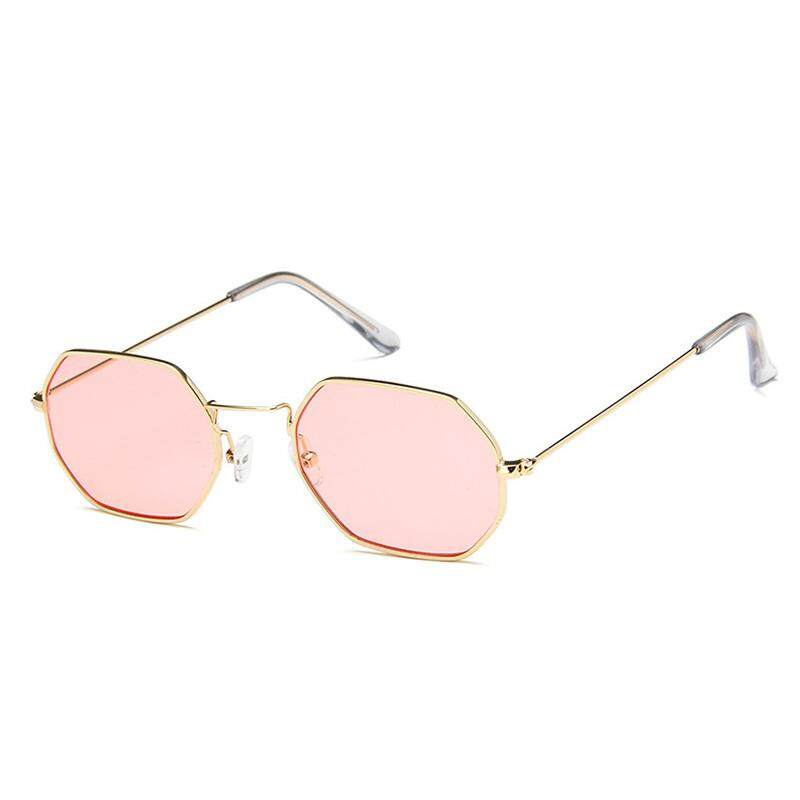 75f0758f8c2 Airforce Fashion Vintage Women Retro Small Transparent Frame square  sunglasses Street - intl