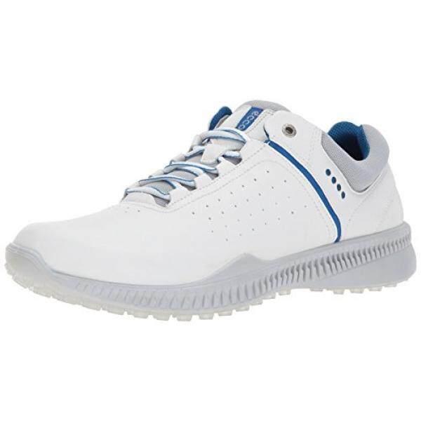 Ecco Mens S - ไดรฟ์ Perforated รองเท้าตีกอล์ฟ, สีขาว/คอนกรีต, Eu/8-8.5 D Us - Intl By 15store.
