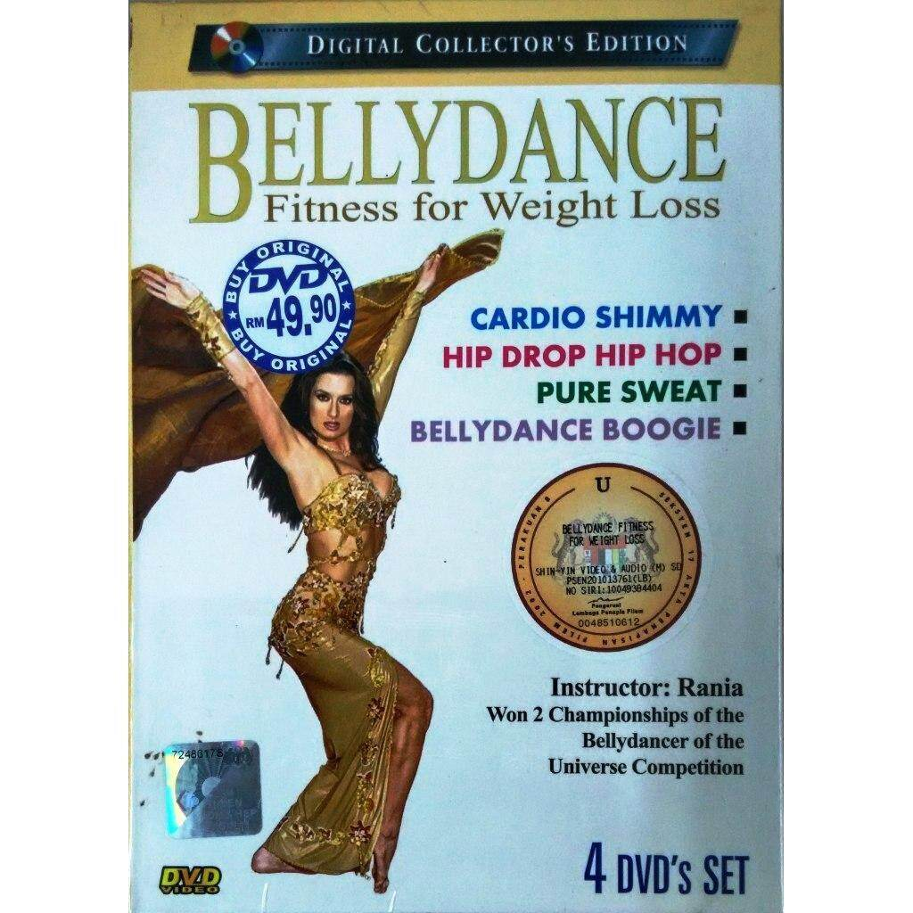 Belly Dance Fitness For Weight Loss DVD