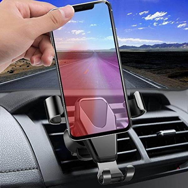 Car Mount, KOZOPO Smart No Touch Cell Phone Holder for Car Air Vent Phone Holder with Auto Lock and Auto Release for iPhone X/8/7/Plus/6s/6 Galaxy/S8/S7/S6/Note 5 Nexus 6, Up to 6.0