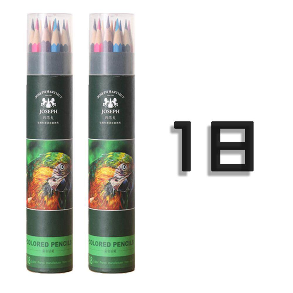 Mua Eco-friendly Art Coloured Pencils Oily Drawing Pencils for Kids & Adults Lead Color:18 colors - intl