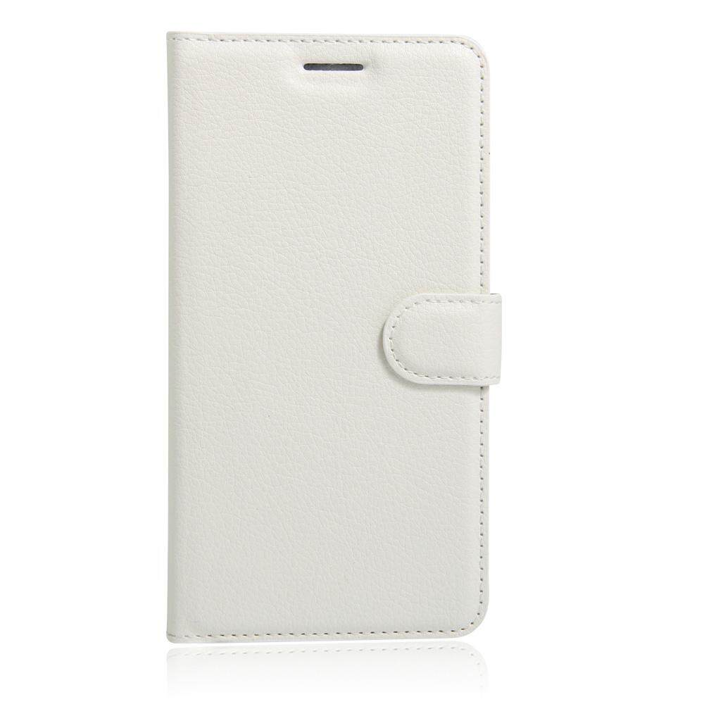 PU Leather Flip Cover Wallet Card Holder Case For Alcatel Hero / OT8020T - intl