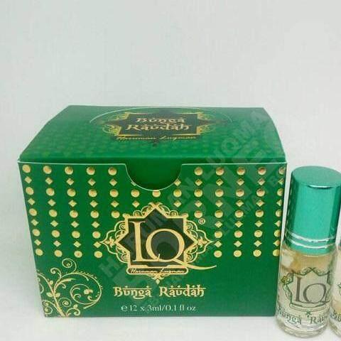 Haruman Luqman Bunga Raudah (12 x 3ml) LQ Minyak Wangi
