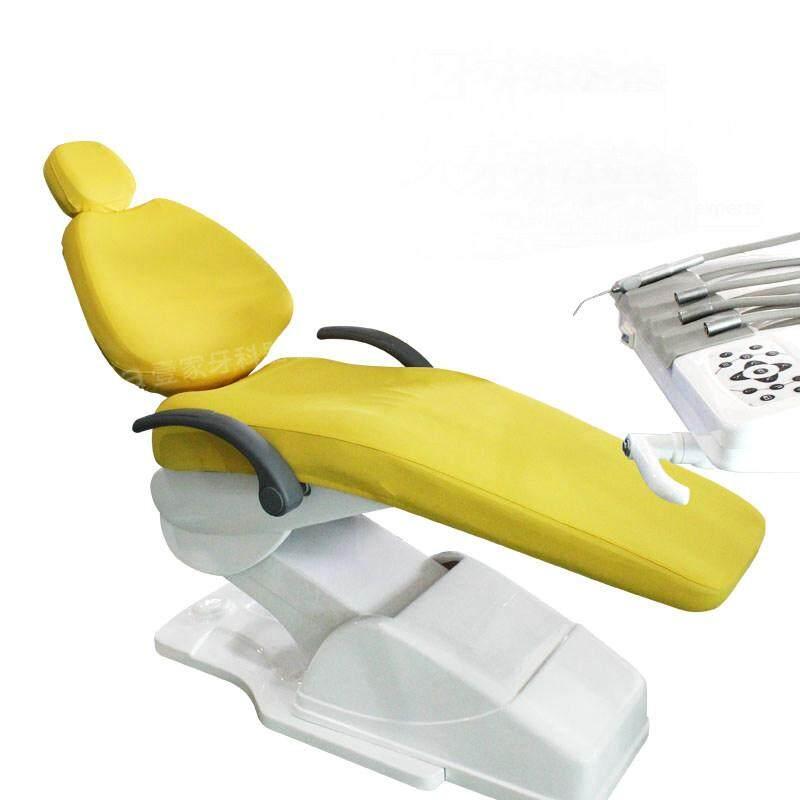 1 Set Kualitas Tinggi dan Elastis Dental Kursi Sarung Dokter Gigi Stool Sarung 4 Pcs Perlengkapan 6 Warna Tersedia- internasional