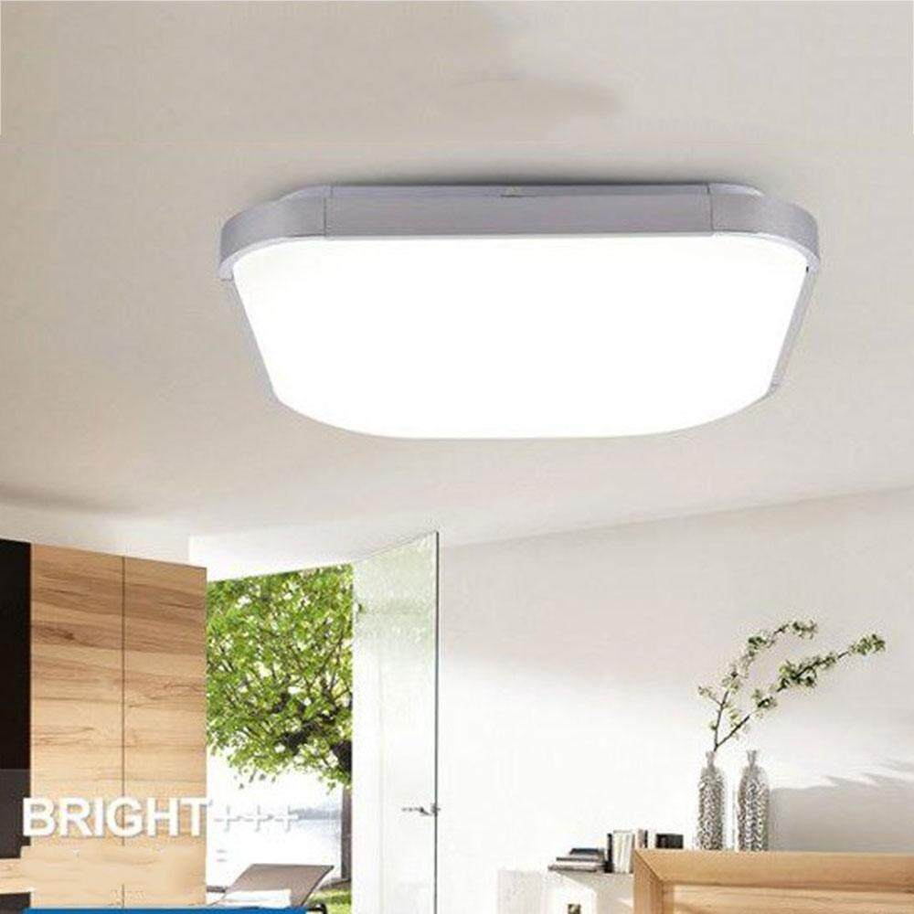 Weiyue LED Ceiling Light Bathroom Kitchen Living Room Lamp Downlight 12W Pure White - intl