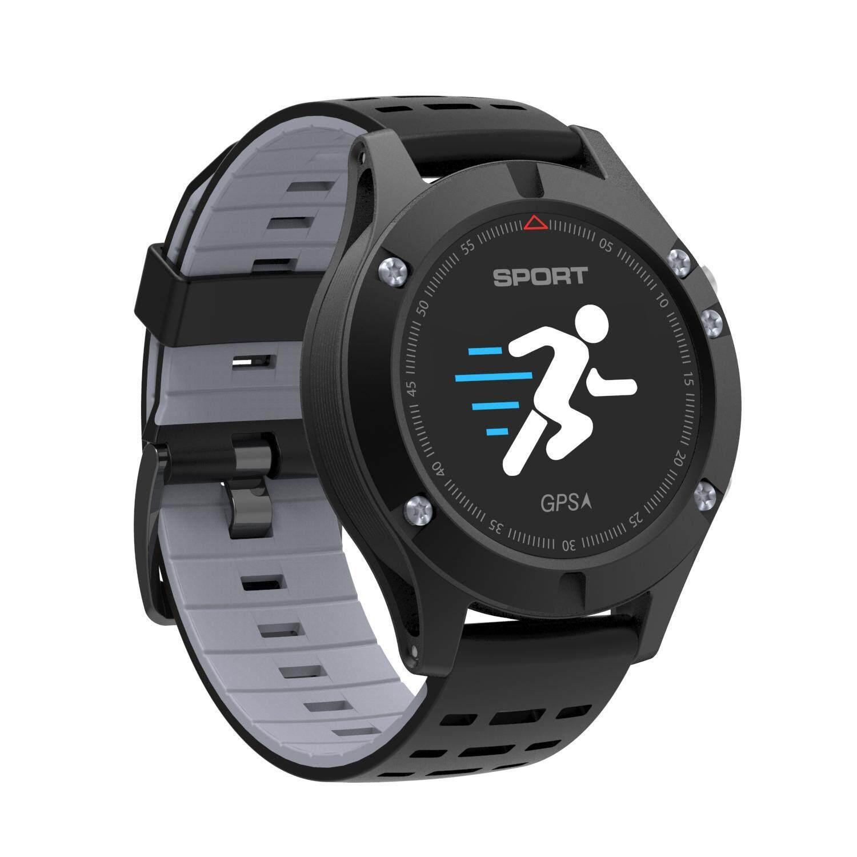 Yiuhua F5 Multifungsi Layar Warna-warni Jam Tangan Olahraga Pintar Outdoor Tahan Air Smartwatch Built-In GPS-Internasional