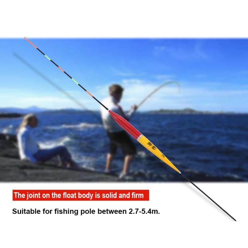 Perikanan Malam Mengambang Bercahaya Strike Indikator Bobber Carp Alat Pancing Aksesoris (Kuning 2 #)