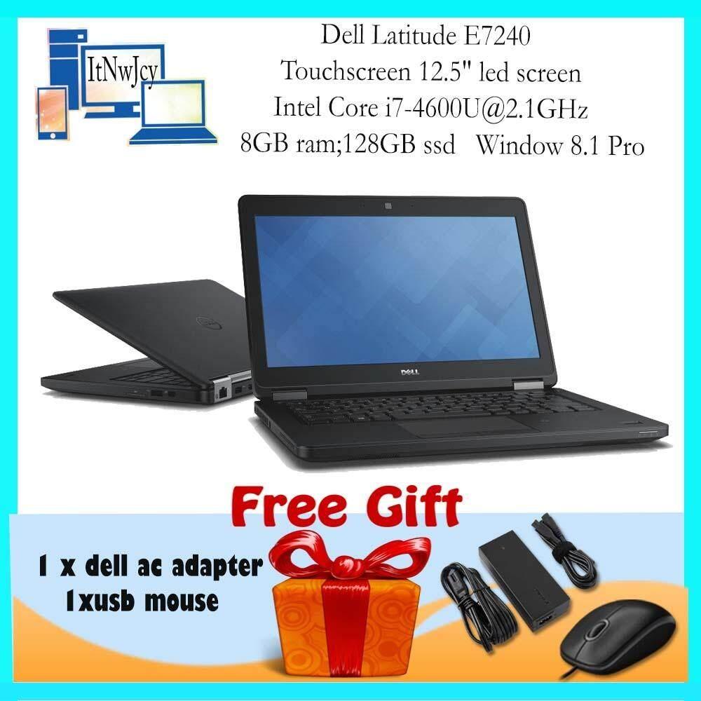 Review Refurbished Dell Latitude E7240 Touchscreen Core I7