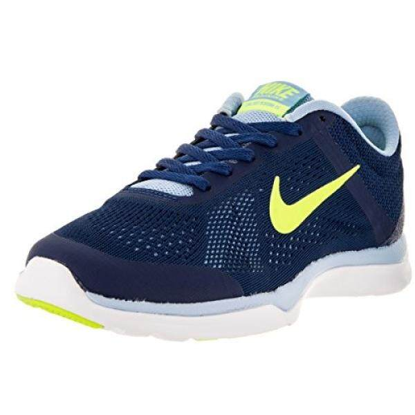 Nike Di Musim TR5 Biru/Kuning Ukuran 5-Internasional