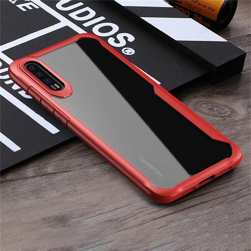 For Huawei P20 Pro Case Clear Luxury Soft Silicone Transparent Pc Back Cover For Huawei P20 Pro Phone Case Intl Discount Code