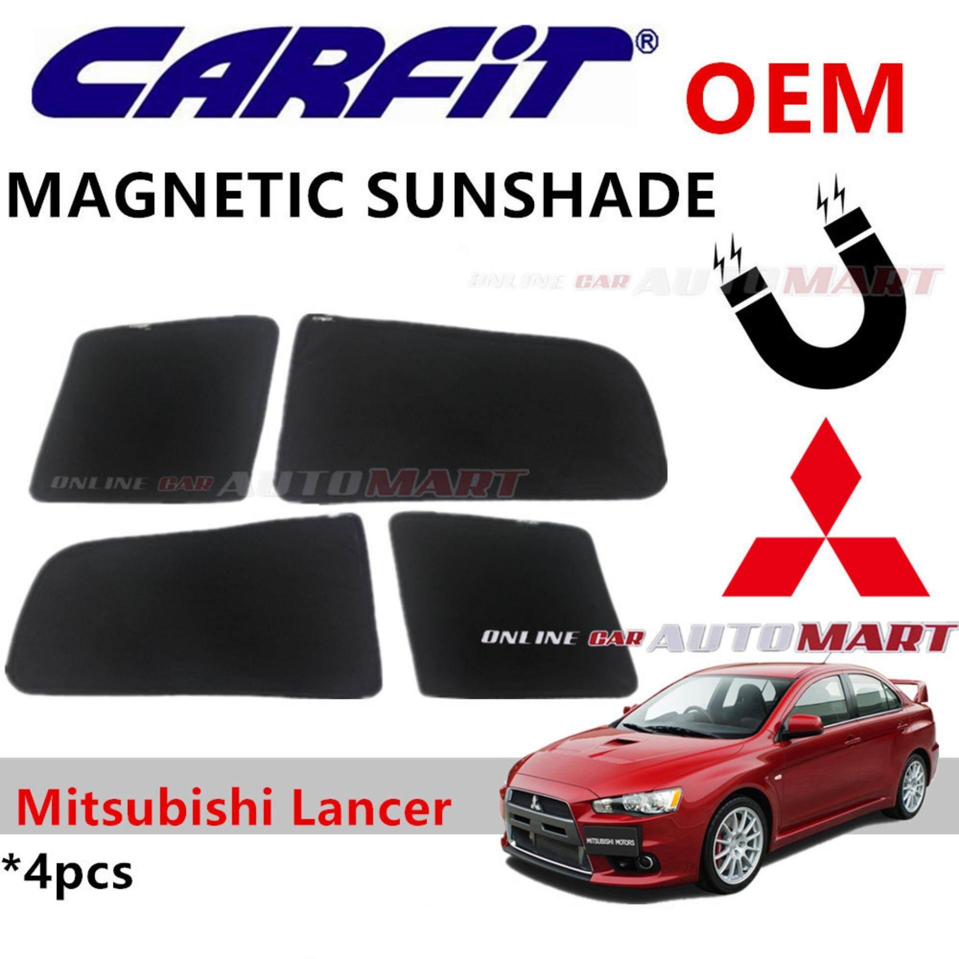 CARFIT OEM Magnetic Custom Fit Sunshade For Mitsubishi Lancer 2007 (4pcs Sets)