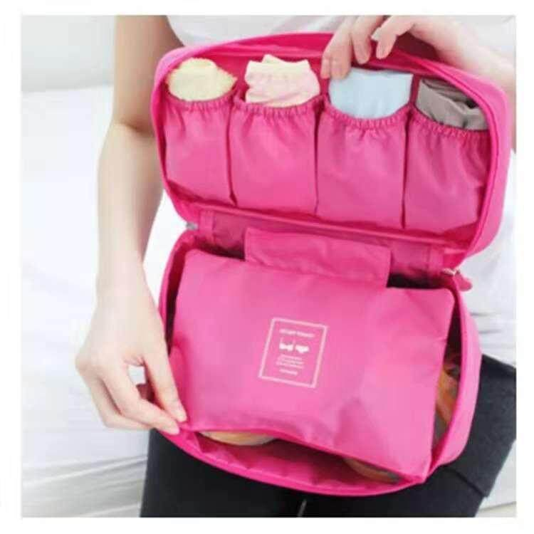 Travel Bag Organizer Underwear / Bra Organizers Cosmetic Bag Waterproof suitcase