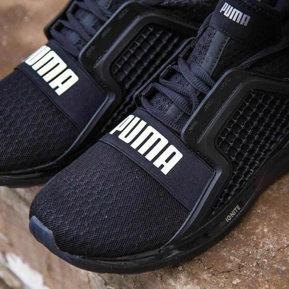 Fitur Puma Sepatu Running Ignite Dual Shift 18948702 Hitam Dan Harga Shimano Shoes Sh Am500 Black