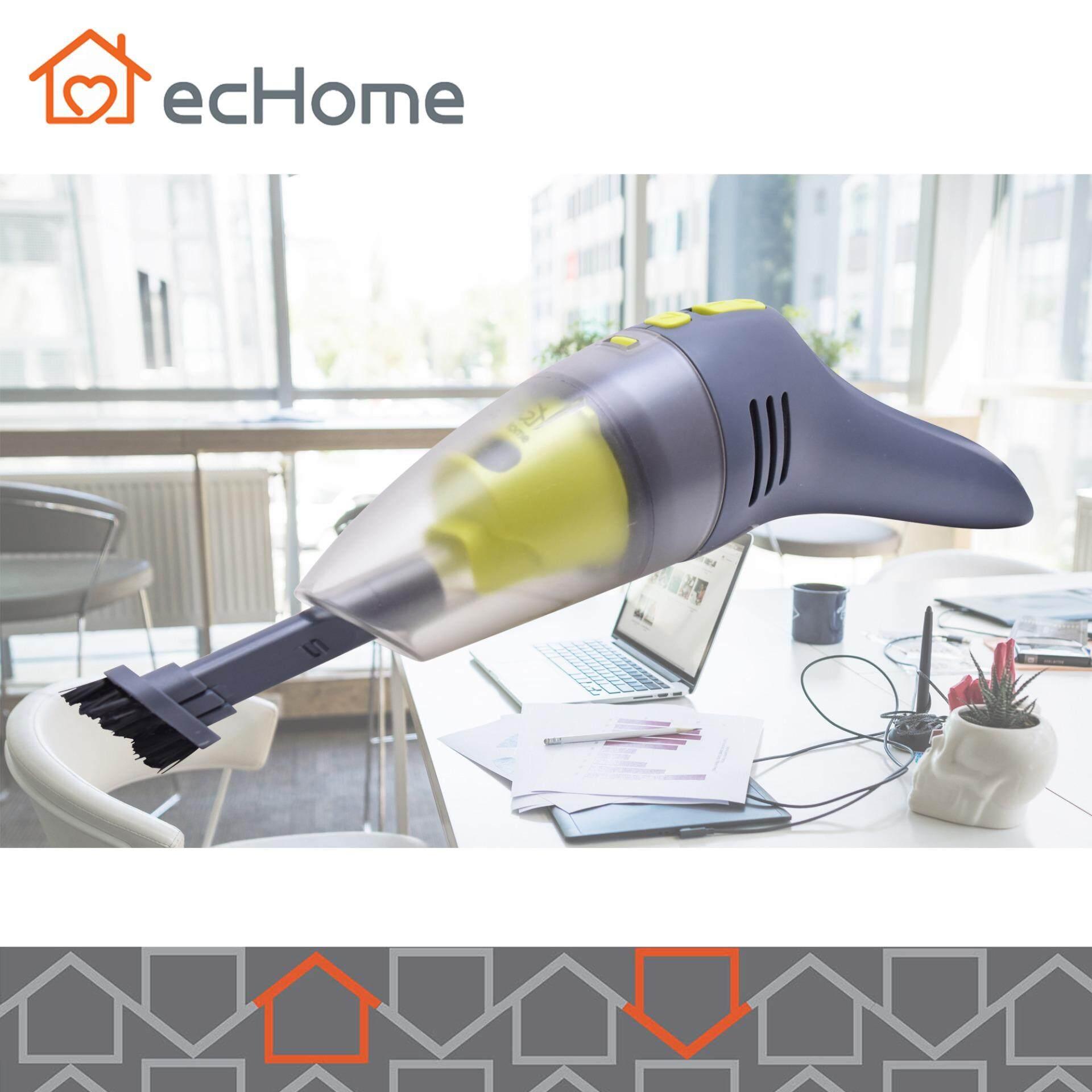Features Echome Handheld Mini Vacuum Cleaner Usb Rechargeable Cordless Bagless Portable Car Desktop Computer