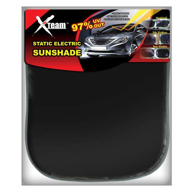 Xteam Car Accessories Static Electric Sunshade (Large)
