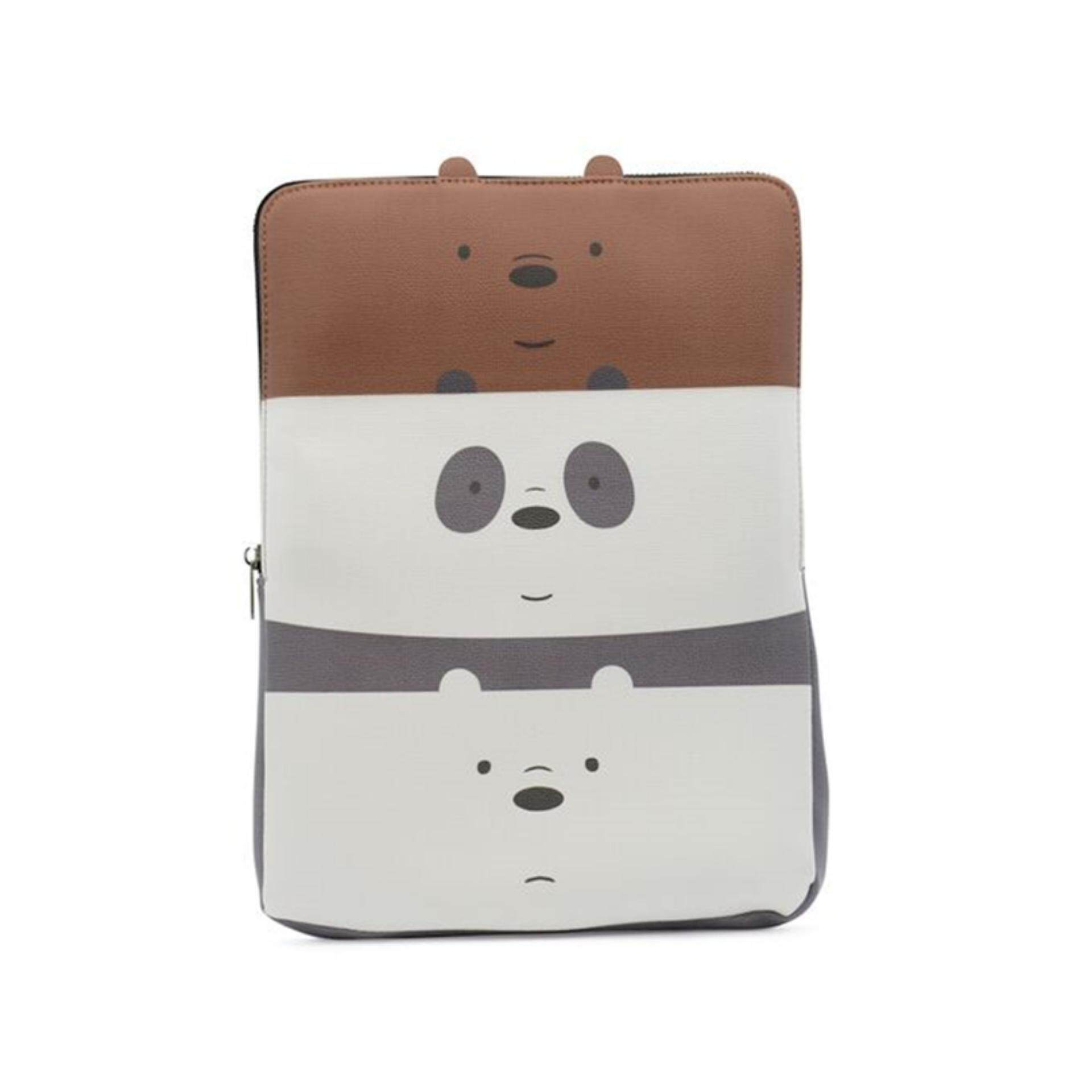 We Bare Bears Laptop Bag 13 Inches - Multicolour