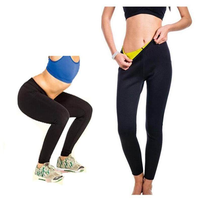 d3600ba661 Hot Shapers Women Yoga Sports Pant Sweat Lose Weight Tights Female Sports  Fitness Running Trousers Slim