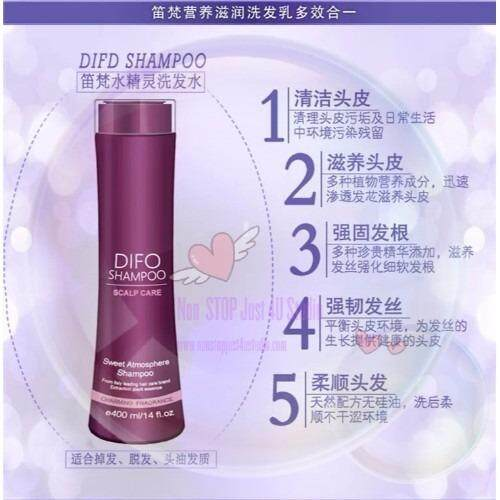 DIFO TEA TREE ESSENTIAL OIL SHAMPOO FOR CLEANSING HAIR/ROOT-FORTIFYING