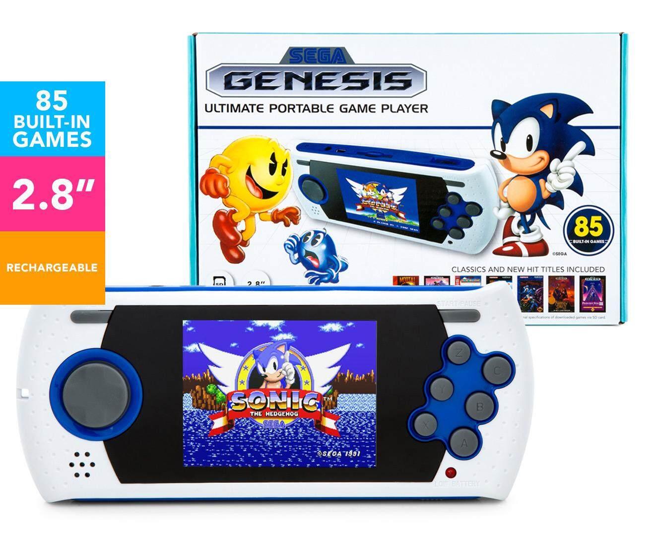 SEGA Ultimate Portable Game Player White/Blue/Black