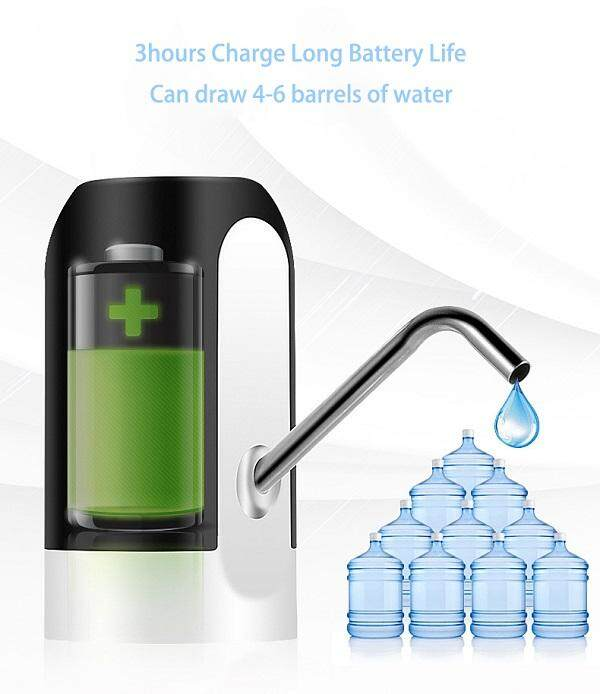 Portable Rechargeable Water Dispenser Electric Water Pump