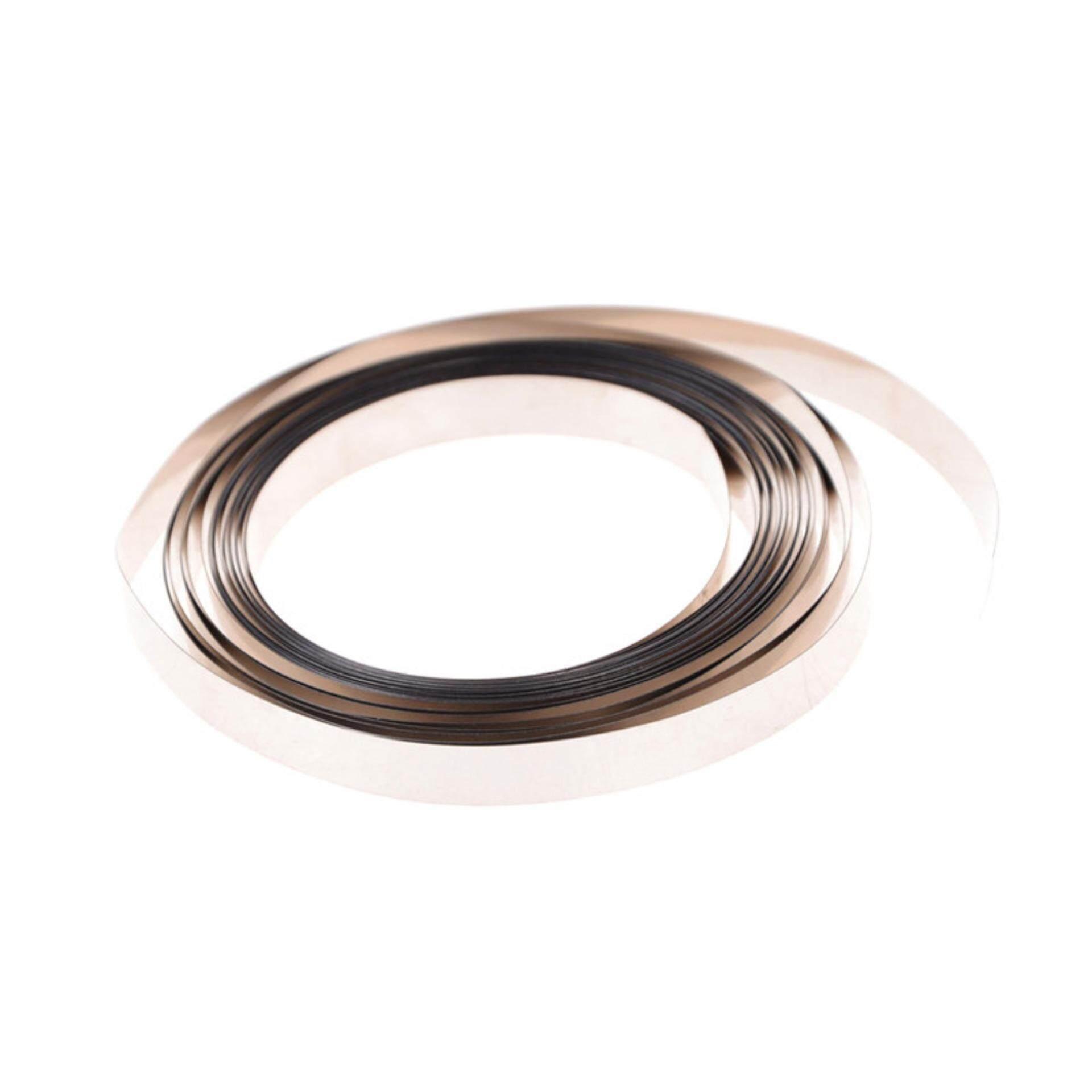 5m Pure Ni Plate Nickel Strip Tape For Li 18650 Battery Spot Welding 8mm x 0.1