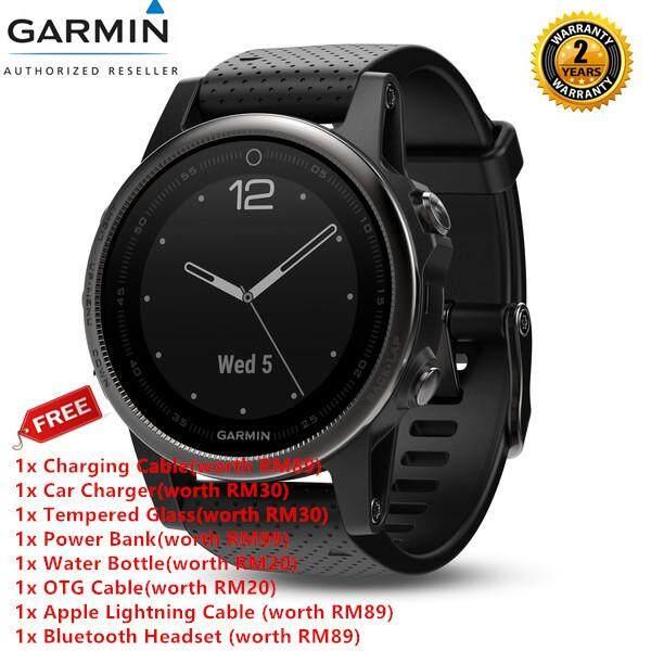 Garmin Fenix 5S Sapphire + Free Gift Smart Watch