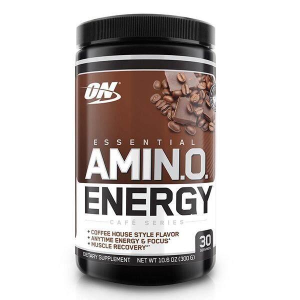 Optimum Nutrition Essential Amino Energy, Iced Mocha Cappucino, 30 Servings