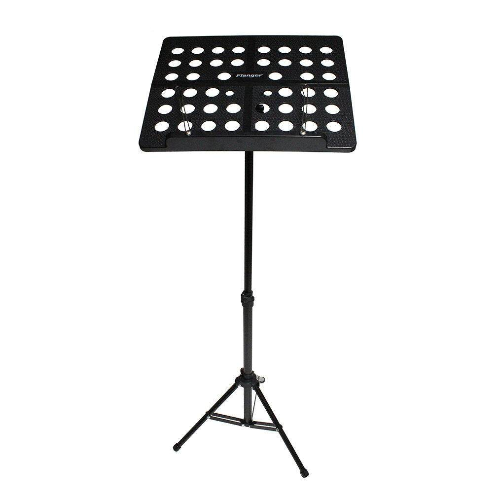 JinGle Flanger FL-05R Folding Music Stand Tripod Stand Holder With Carrying Bag